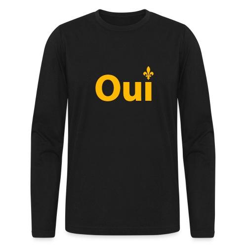 OUI Québec - Men's Long Sleeve T-Shirt by Next Level