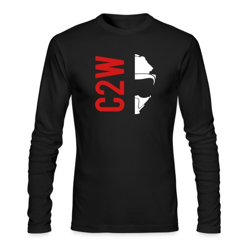 ChaseOnTwoWheels Split Logo - Men's Long Sleeve T-Shirt by Next Level