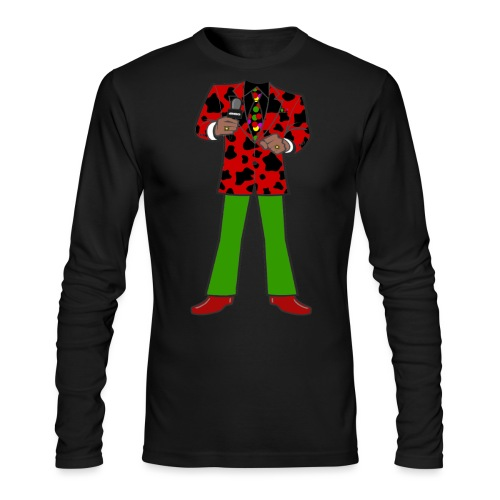 The Red Cow Suit - Men's Long Sleeve T-Shirt by Next Level