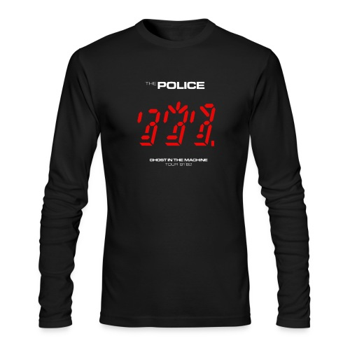Ghost in the Machine - Men's Long Sleeve T-Shirt by Next Level