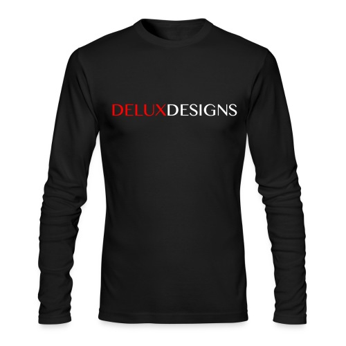 Delux Designs (white) - Men's Long Sleeve T-Shirt by Next Level
