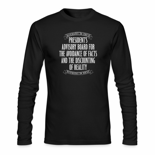 Nothing is True - Men's Long Sleeve T-Shirt by Next Level