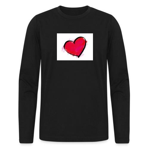 heart 192957 960 720 - Men's Long Sleeve T-Shirt by Next Level