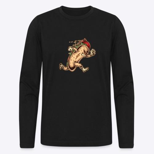 Hot Dog Hero - Men's Long Sleeve T-Shirt by Next Level
