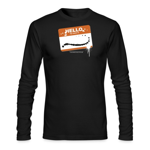 Hello my name is - Men's Long Sleeve T-Shirt by Next Level