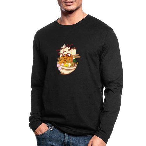 Watashiwa Ramen Desu - Men's Long Sleeve T-Shirt by Next Level