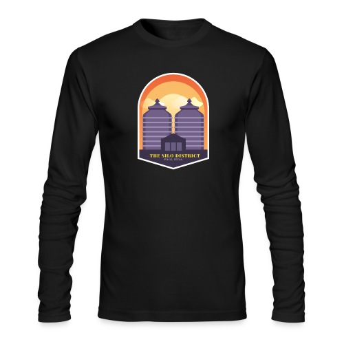 The Silos in Waco - Men's Long Sleeve T-Shirt by Next Level