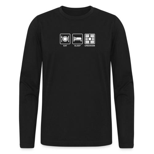Eat Sleep Urb big fork - Men's Long Sleeve T-Shirt by Next Level