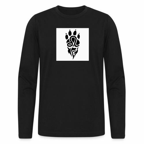 Black Leo Zodiac Sign - Men's Long Sleeve T-Shirt by Next Level