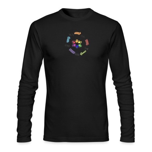 Let's Put Our Kids First - Men's Long Sleeve T-Shirt by Next Level