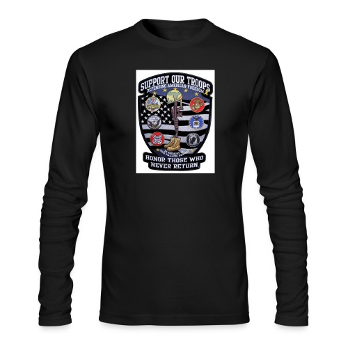 Troop Support - Men's Long Sleeve T-Shirt by Next Level