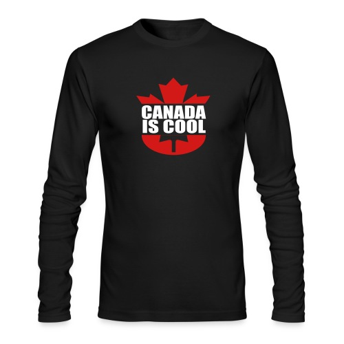 Canada is Cool - Men's Long Sleeve T-Shirt by Next Level