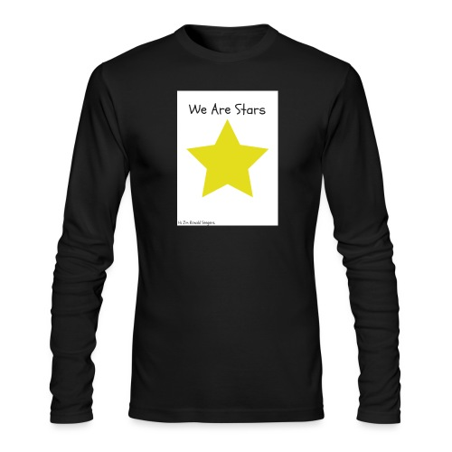 Hi I'm Ronald Seegers Collection-We Are Stars - Men's Long Sleeve T-Shirt by Next Level