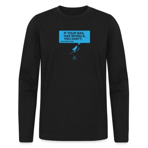 Bag has Wheels 2 - Men's Long Sleeve T-Shirt by Next Level