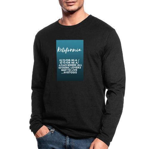 Ketofornia - Men's Long Sleeve T-Shirt by Next Level