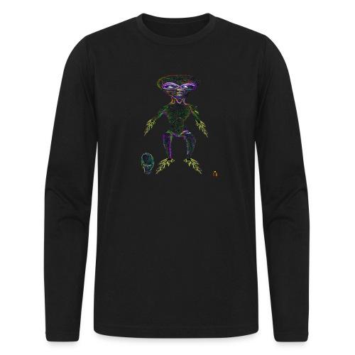 AlienToe - Men's Long Sleeve T-Shirt by Next Level