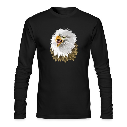 Big, Bold Eagle - Men's Long Sleeve T-Shirt by Next Level