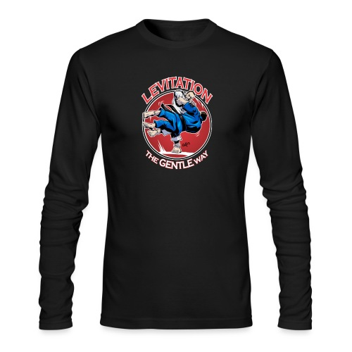 Judo Levitation for dark shirt - Men's Long Sleeve T-Shirt by Next Level