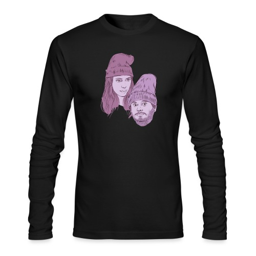 Hila and Ethan from h3h3productions - Men's Long Sleeve T-Shirt by Next Level