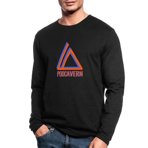 PodCavern Logo - Men's Long Sleeve T-Shirt by Next Level