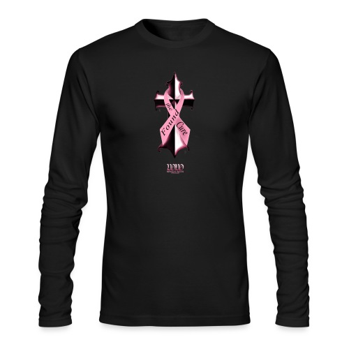 Found The Cure (4 breast cancer) - Men's Long Sleeve T-Shirt by Next Level