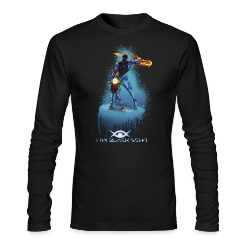 Two Tone Eclipx Hoodie - Men's Long Sleeve T-Shirt by Next Level
