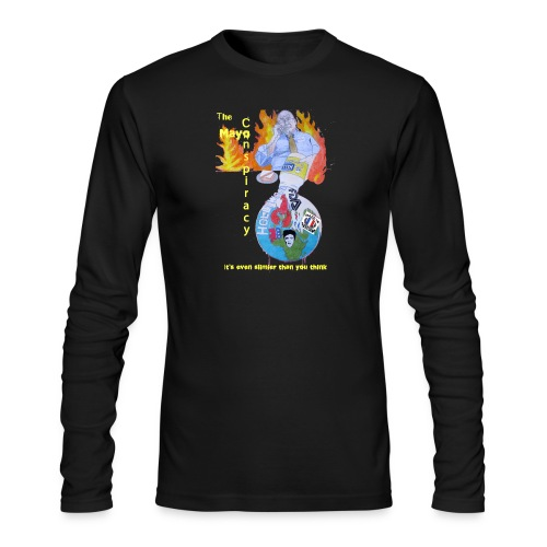 Mayo-Conspiracy - Men's Long Sleeve T-Shirt by Next Level