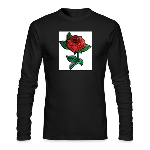 t-shirt roses clothing🌷 - Men's Long Sleeve T-Shirt by Next Level