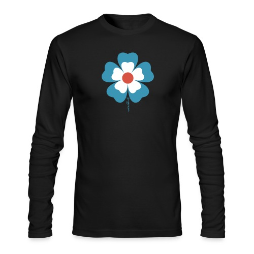 flower time - Men's Long Sleeve T-Shirt by Next Level