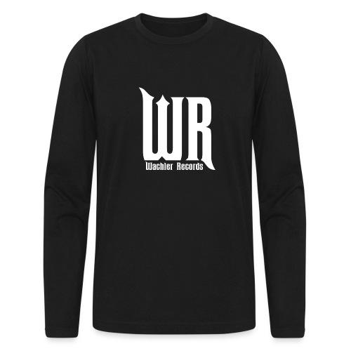 Wachler Records Light Logo - Men's Long Sleeve T-Shirt by Next Level
