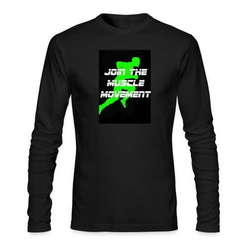 muscle movement - Men's Long Sleeve T-Shirt by Next Level