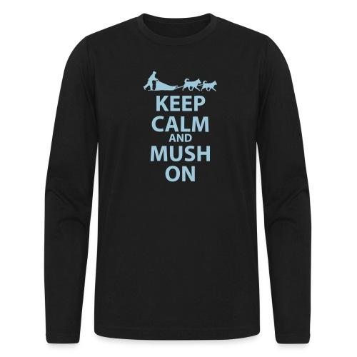 Keep Calm & MUSH On - Men's Long Sleeve T-Shirt by Next Level