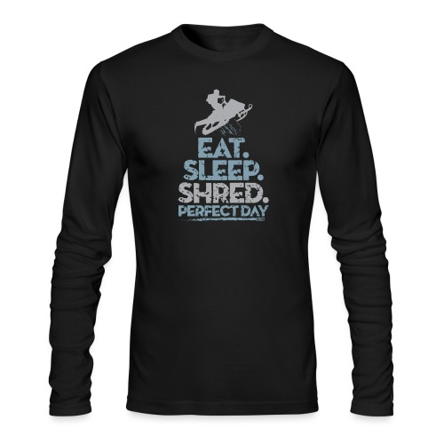 Snowmobile Eat Sleep - Men's Long Sleeve T-Shirt by Next Level