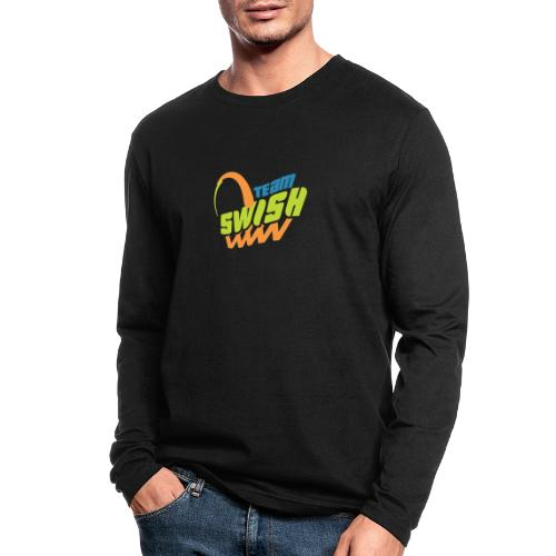 TeamSwish logo2 20 - Men's Long Sleeve T-Shirt by Next Level