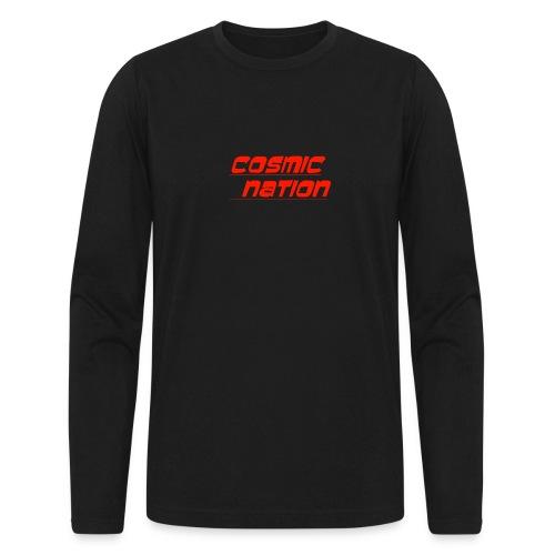 Cosmic Nation Logo - Men's Long Sleeve T-Shirt by Next Level