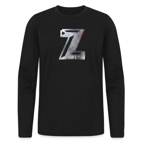 Zawles - metal logo - Men's Long Sleeve T-Shirt by Next Level