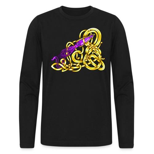 Celtic Squid - Men's Long Sleeve T-Shirt by Next Level