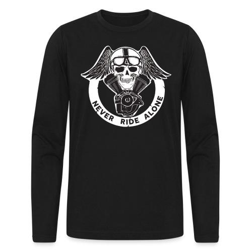 V TWIN BLACK - Men's Long Sleeve T-Shirt by Next Level