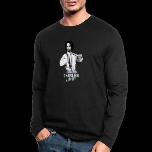 CHARLEY IN CHARGE - Men's Long Sleeve T-Shirt by Next Level