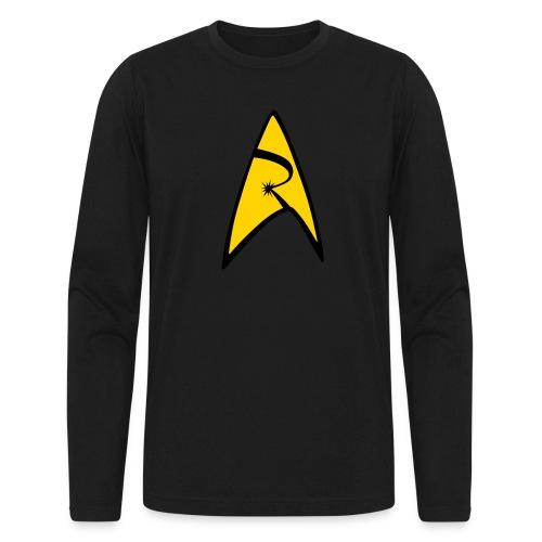 Emblem - Men's Long Sleeve T-Shirt by Next Level