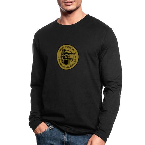 NAGA Logo - Men's Long Sleeve T-Shirt by Next Level