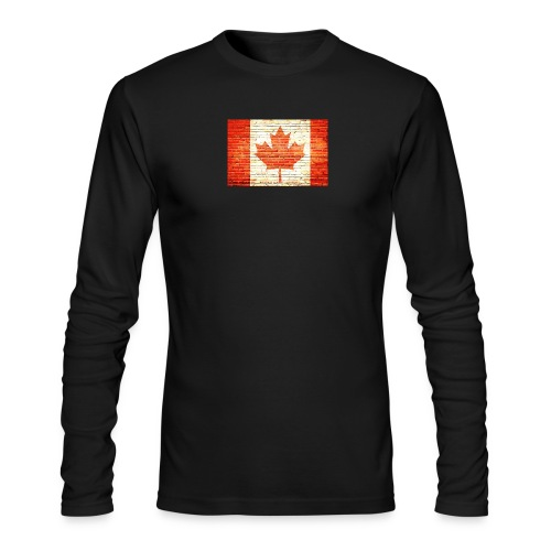 Canada flag - Men's Long Sleeve T-Shirt by Next Level