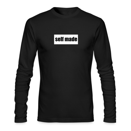 self made tee - Men's Long Sleeve T-Shirt by Next Level