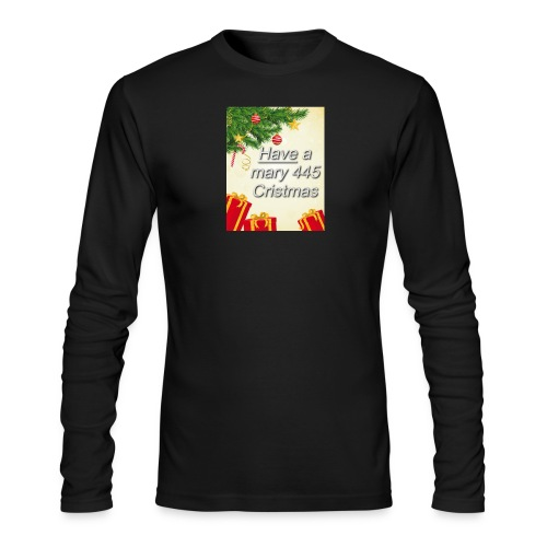 Have a Mary 445 Christmas - Men's Long Sleeve T-Shirt by Next Level