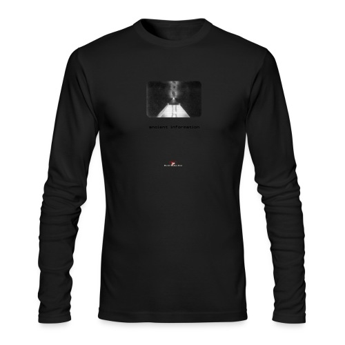 'Ancient Information' - Men's Long Sleeve T-Shirt by Next Level