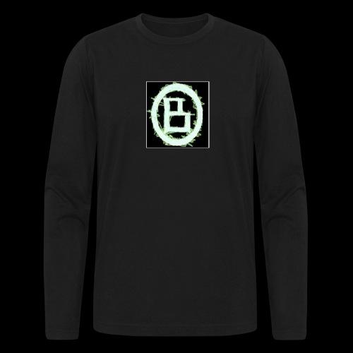 The BD Logo - Men's Long Sleeve T-Shirt by Next Level