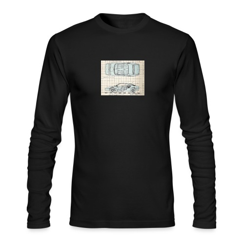 drawings - Men's Long Sleeve T-Shirt by Next Level