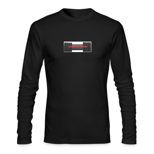 colin the lifter - Men's Long Sleeve T-Shirt by Next Level