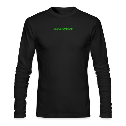 Go Skydive T-shirt/Book Skydive - Men's Long Sleeve T-Shirt by Next Level