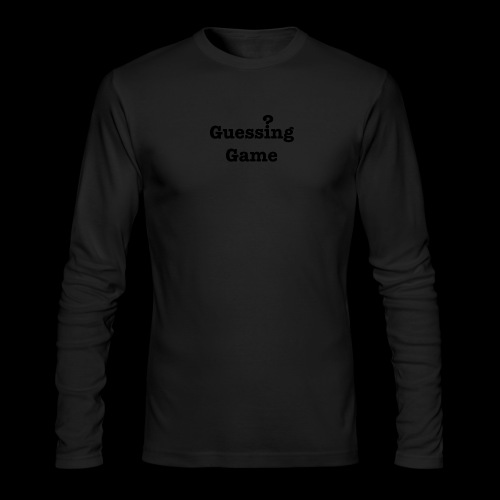 Question - Men's Long Sleeve T-Shirt by Next Level